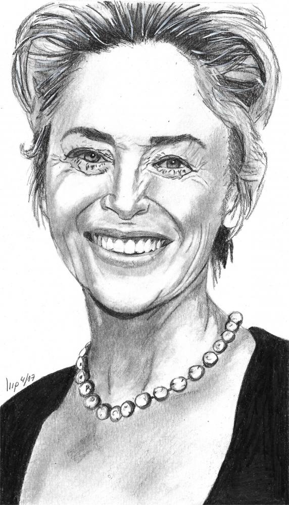 Sharon Stone par patrick